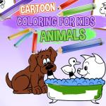 Cartoon Coloring for Kids Animals