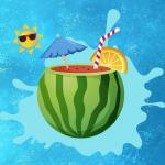 Watermelon and Drinks Puzzle